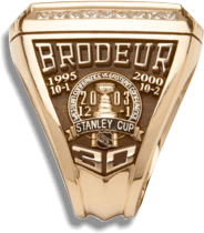 Martin Brodeur's ring - Right