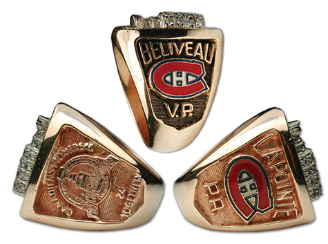 Montreal 1993 Stanley Cup championship ring - Sides
