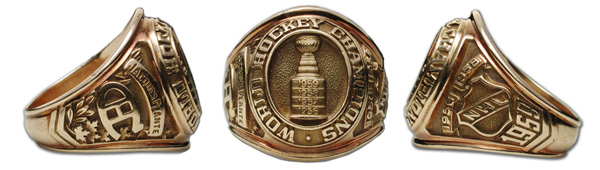 1959 Stanley Cup Ring - Montreal Canadien