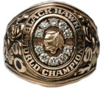 1961 Chicago Blackhawks Stanley Cup Ring - Thumbnail