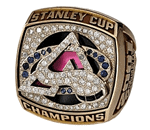 Colorado 2001 Stanley Cup ring